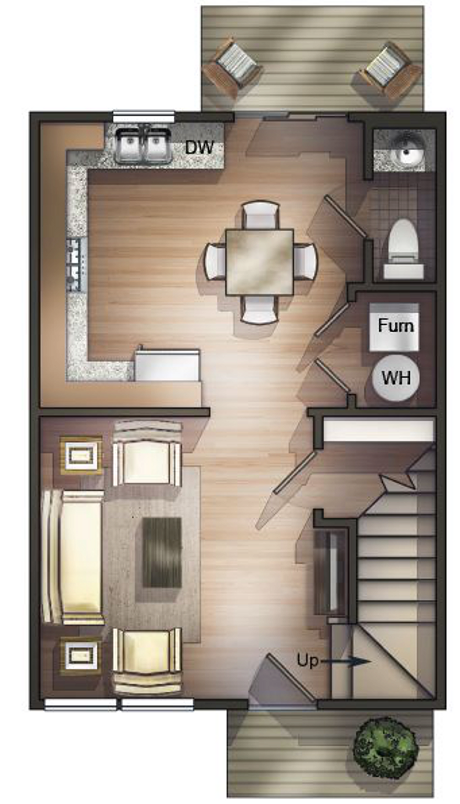 TH 1st floor