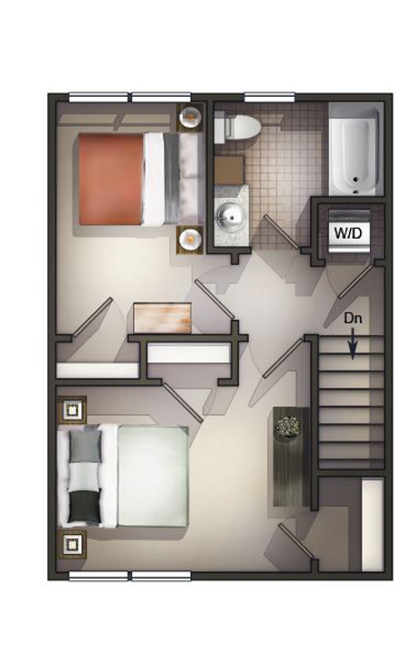 TH 2nd floor